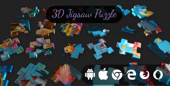 [Free Download] 3D Jigsaw Puzzle – Cross Platform Classic Puzzle Game (Nulled) [Latest Version]