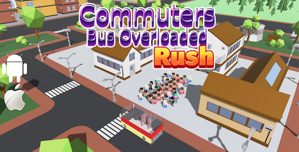 [Free Download] Commuters Bus OverLoaded Rush – Complete Unity Game (Nulled) [Latest Version]
