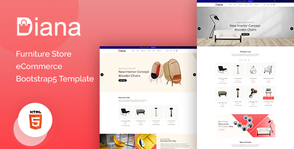 [Free Download] Diana – Furniture Store eCommerce Template (Nulled) [Latest Version]