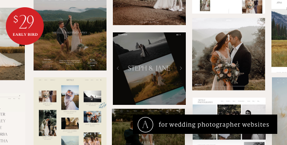 [Free Download] Artale | Wedding Photography WordPress (Nulled) [Latest Version]