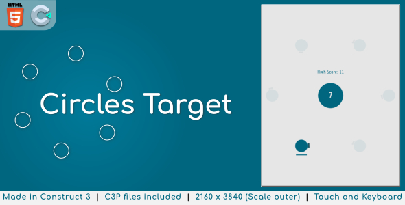 [Free Download] Circles Target – HTML5 Casual Game (Nulled) [Latest Version]