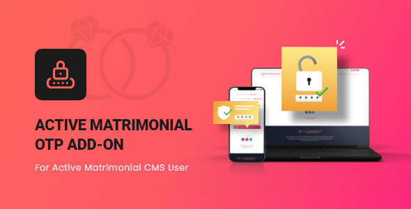 [Free Download] Active Matrimonial OTP add-on (Nulled) [Latest Version]