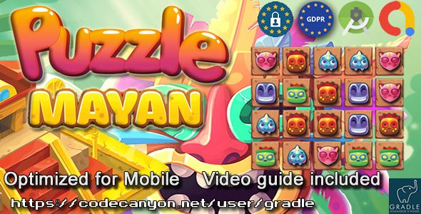 [Free Download] Puzzle Mayan (Admob + GDPR + Android Studio) (Nulled) [Latest Version]
