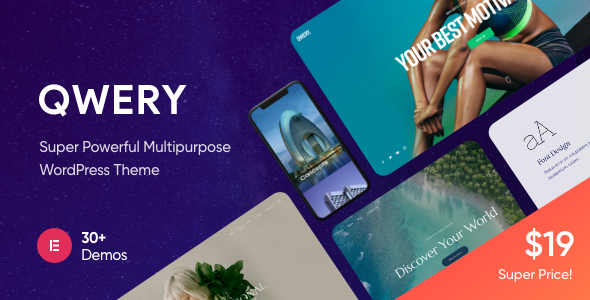 [Free Download] Qwery – Multi-Purpose Business WordPress Theme + RTL (Nulled) [Latest Version]