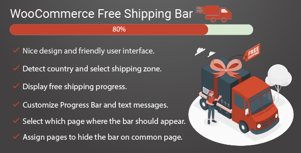 [Free Download] Free shipping bar for WooCommerce (Nulled) [Latest Version]