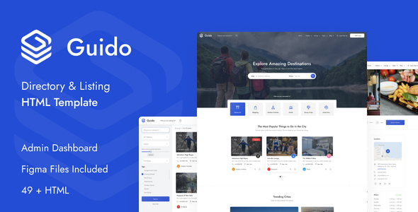 [Free Download] Guido – Directory & Listing HTML Template (Nulled) [Latest Version]