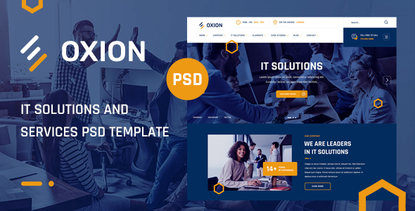 [Free Download] Oxion – IT Solutions and Services PSD Template (Nulled) [Latest Version]