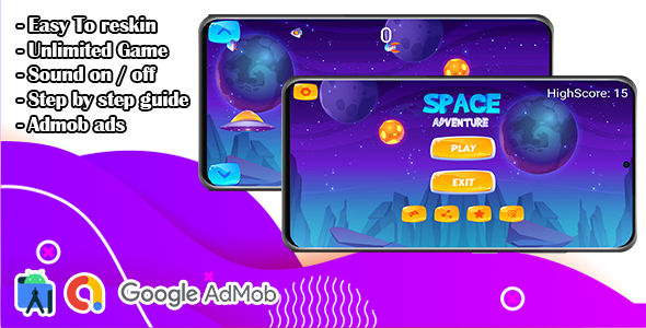 [Free Download] Space Adventure Shooting Game (Nulled) [Latest Version]