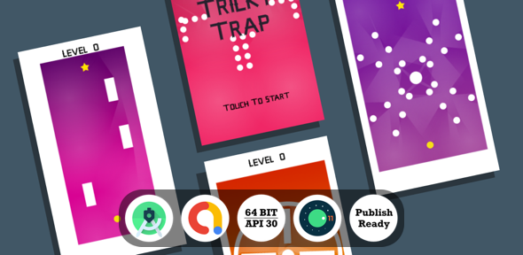 [Free Download] Tricky Trap Android Game with Admob Ads + reward video + Android Studio + ready to publish (Nulled) [Latest Version]