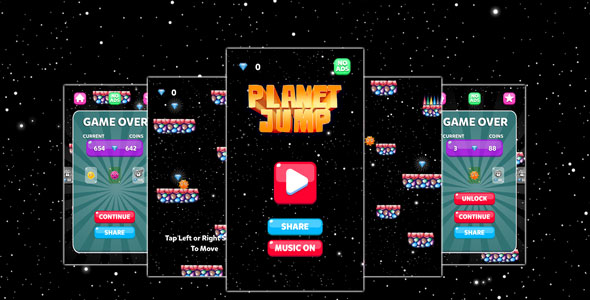 [Free Download] Planet Jump Game Template (Nulled) [Latest Version]