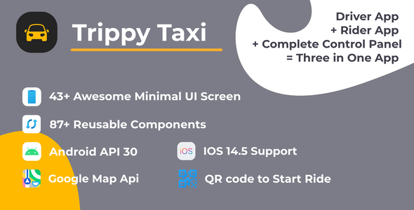 [Free Download] Trippy Taxi React Native Complete Taxi App (Nulled) [Latest Version]