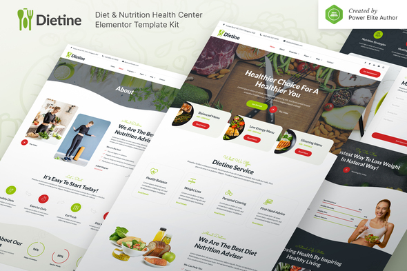 [Free Download] Dietine – Diet & Nutrition Health Center Elementor Template Kit (Nulled) [Latest Version]