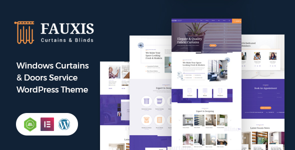 [Free Download] Fauxis – Windows Curtains WordPress Theme (Nulled) [Latest Version]