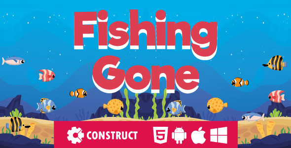 [Free Download] Fishing Gone – HTML5 Mobile Game (Nulled) [Latest Version]