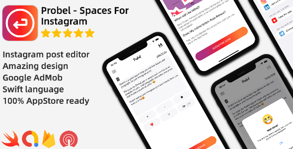 [Free Download] Probel – Line Spaces For Instagram (Nulled) [Latest Version]