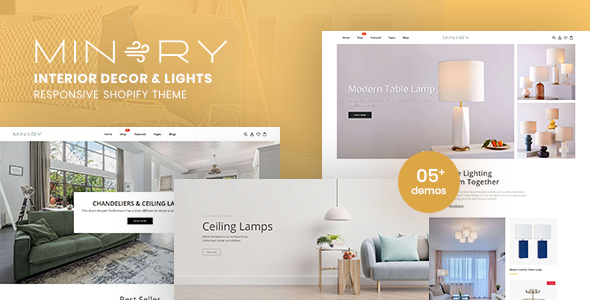 [Free Download] Minery – Interior Decor & Lights Responsive Shopify Theme (Nulled) [Latest Version]