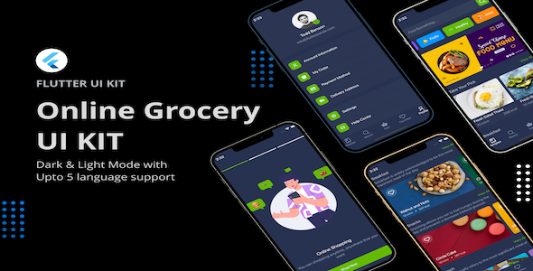 [Free Download] Flutter Online Grocery UI Kit (Nulled) [Latest Version]