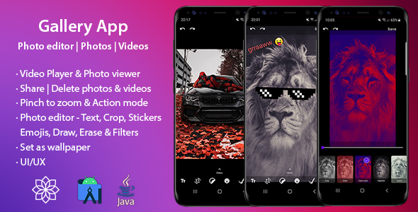 [Free Download] Gallery App – Photo editor | Photos | Videos (Nulled) [Latest Version]