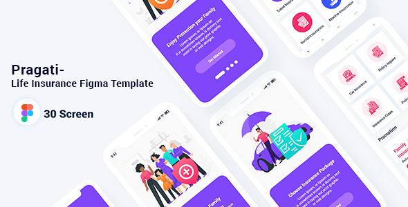 [Free Download] Pragati- Life Insurance Figma Template (Nulled) [Latest Version]