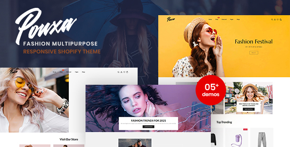[Free Download] Pouxa – Fashion Multipurpose Responsive Shopify Theme (Nulled) [Latest Version]