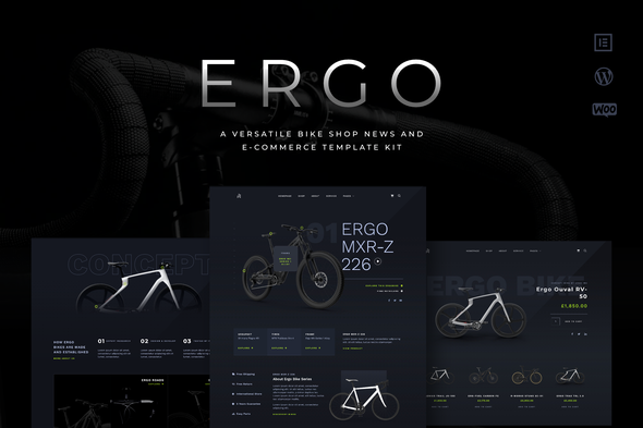 [Free Download] ERGO – A Versatile Bike Shop News and eCommerce Template Kit (Nulled) [Latest Version]