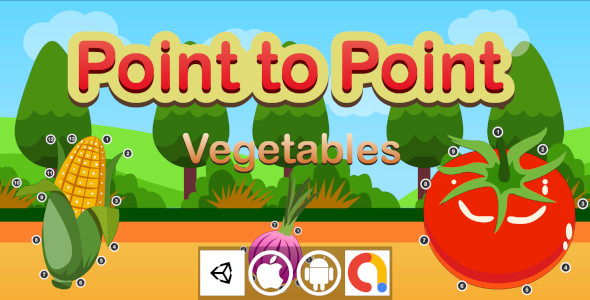 [Free Download] Edukida – Point to Point Vegetables Unity Kids Educational Game With Admob For Android and iOS (Nulled) [Latest Version]