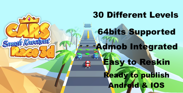 [Free Download] Cars Smash Knockout Race 3d – Complete Unity Template (Nulled) [Latest Version]