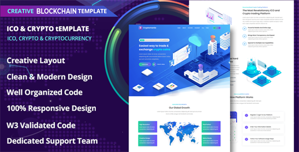 [Free Download] Ranzy – ICO and Crypto Template (Nulled) [Latest Version]