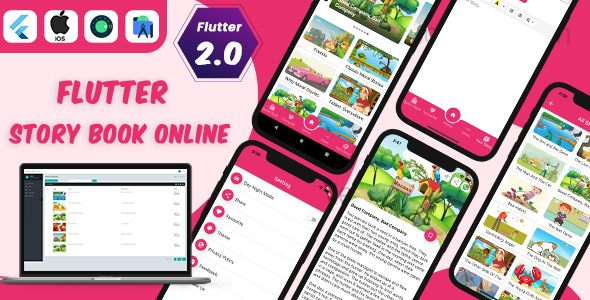[Free Download] Flutter Story Book App with Admin panel | Flutter full source code | Ready to publish (Nulled) [Latest Version]