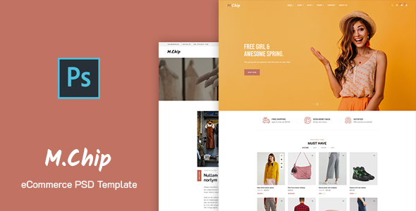 [Free Download] MChip – eCommerce PSD Template (Nulled) [Latest Version]