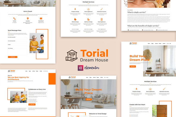 [Free Download] Torial – Interior Design Elementor Template Kit (Nulled) [Latest Version]