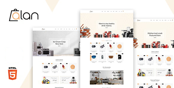 [Free Download] Alan – Kitchen Accessories Bootstrap 5 HTML Template (Nulled) [Latest Version]