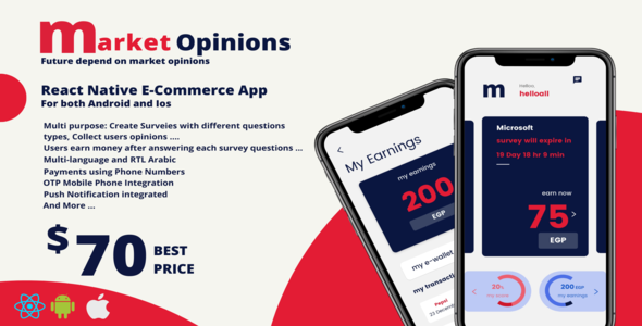[Free Download] Market Opinions App (Nulled) [Latest Version]