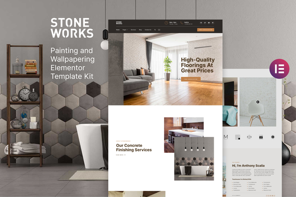 [Free Download] StoneWorks – Flooring & Home Interior Elementor Template Kit (Nulled) [Latest Version]