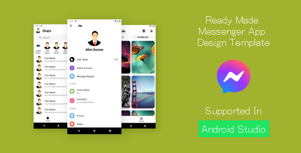 [Free Download] Messenger UI (Nulled) [Latest Version]