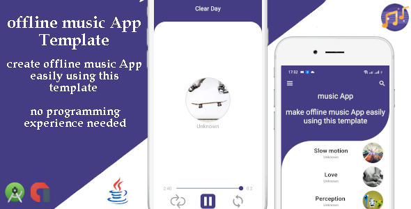 [Free Download] offline music App template with admob. (Nulled) [Latest Version]