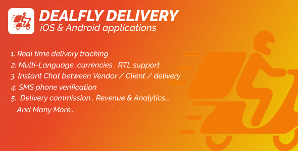 [Free Download] Delivery For Dealfly – Order Tracking Real-Time – iOS & Android (Nulled) [Latest Version]