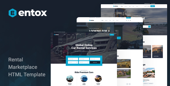 [Free Download] Entox – Rental Marketplace HTML Template (Nulled) [Latest Version]