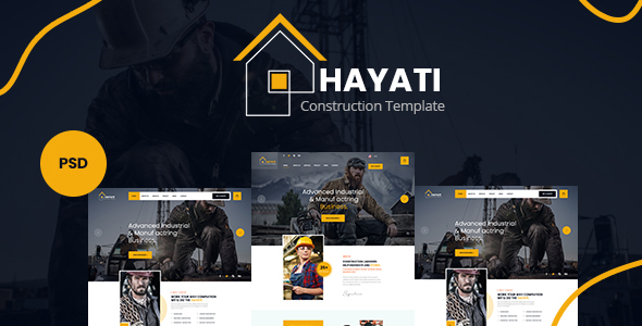 [Free Download] Hayati – Construction PSD Template (Nulled) [Latest Version]