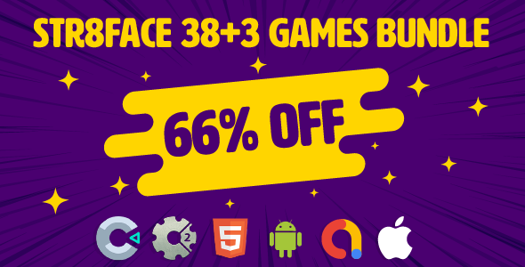 [Free Download] Bundle 38 + 3 Games | HTML5 | Construct 3 | C3P (Nulled) [Latest Version]