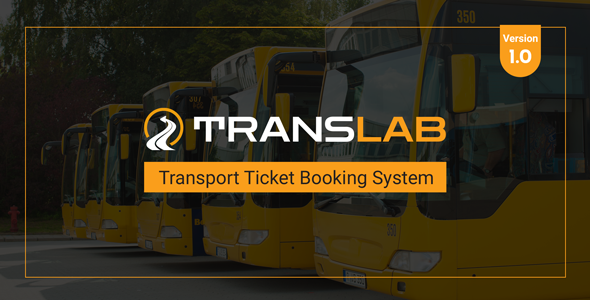 [Free Download] TransLab – Transport Ticket Booking System (Nulled) [Latest Version]