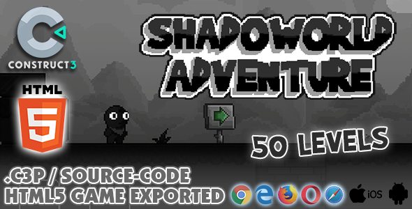 [Free Download] Shadoworld Adventure HTML5 Game – With Construct 3 All Source-code (Nulled) [Latest Version]