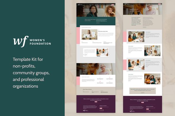 [Free Download] Women's Foundation | Non-Profit WordPress Elementor Template Kit (Nulled) [Latest Version]