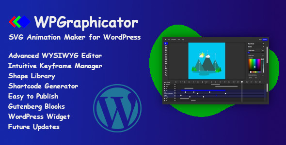 [Free Download] WPGraphicator – SVG Animation Maker for WordPress (Nulled) [Latest Version]