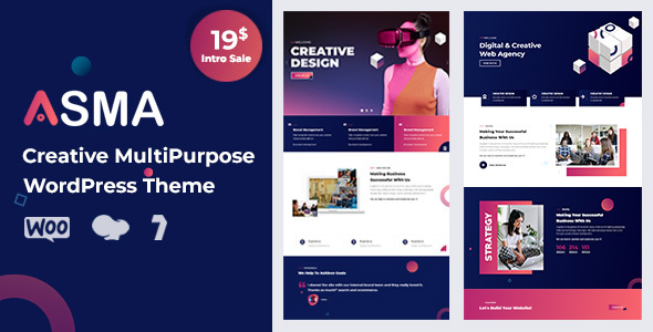 [Free Download] Asma – Creative Agency WordPress Theme (Nulled) [Latest Version]