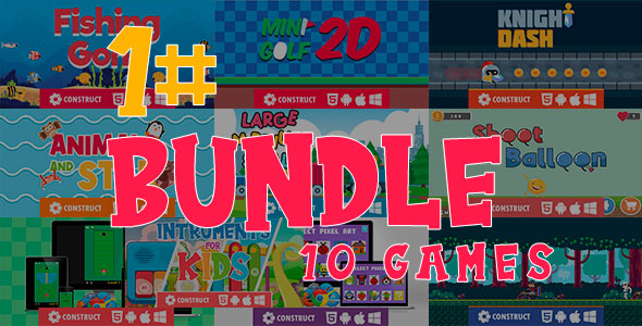 [Free Download] Game Bundle 1 – HTML5 Mobile Game (Nulled) [Latest Version]