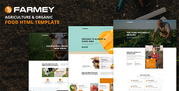 [Free Download] Farmey – Agriculture & Farm Food HTML Template (Nulled) [Latest Version]