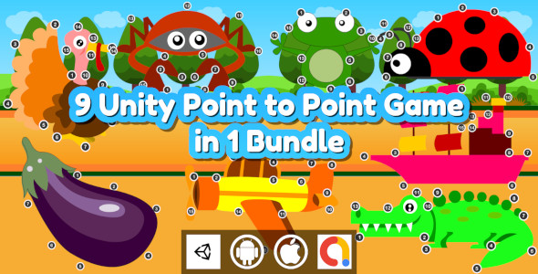 [Free Download] Edukida – 9 Unity Point to Point Kids Games With Admob in 1 Bundle For Android and iOS (Nulled) [Latest Version]