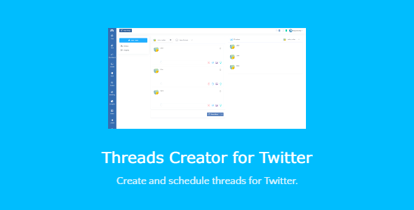 [Free Download] Threads Creator for Twitter – script with SAAS support (Nulled) [Latest Version]