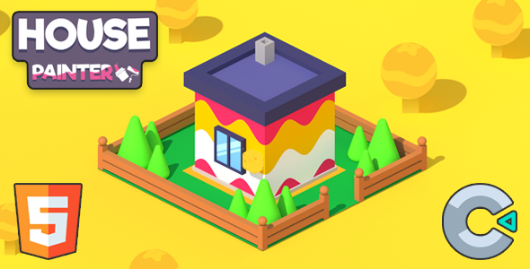 [Free Download] House Painter – (HTML5 Game – Construct 3) (Nulled) [Latest Version]